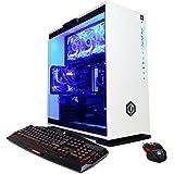 CYBERPOWERPC BattleBox Essential SLC9880 Gaming PC (Intel i7-7700K 4.2GHz, NVIDIA GTX 1060 6GB, 16GB RAM, 2TB HDD, 240GB SSD, WiFi, Liquid Cool & Win10) White