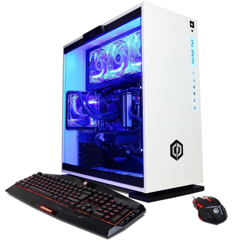 Cyberpowerpc Battlebox Essential Slc9880 Gaming Pc Processor Intel Core I7 7700k 42ghz Nvidia Gtx 1060 6gb 16gb Ram 2tb Hdd 240gb Ssd Wifi