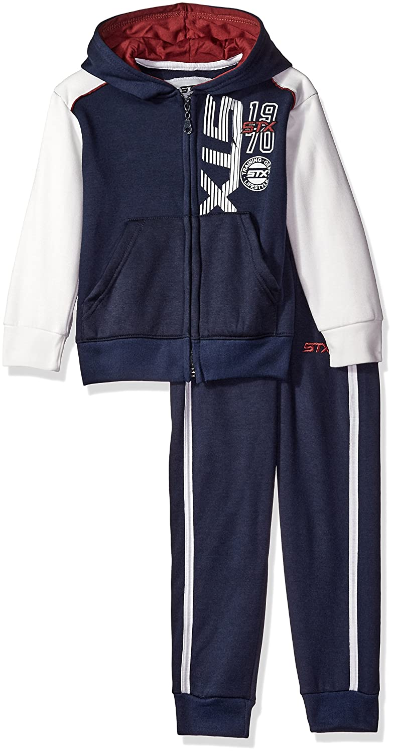 STX Boys' Color Block Fleece Hoody and Matching Pull on Pant STX Children' s Apparel TX55