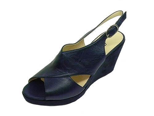 Melluso Sandalo Comodo Donna con Zeppa Y0116 Bianco E0330 41  Amazon.it  Scarpe  e borse a0f1110a9ec