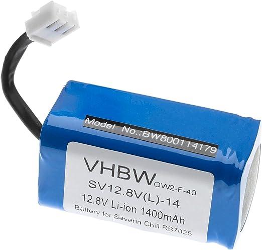 vhbw Batería Li-Ion 1400mAh (12.8V) para robot de casa Home ...