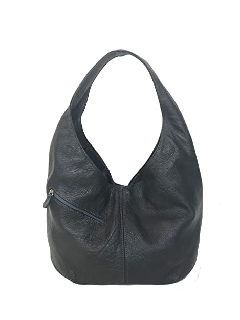 Fgalaze Slouchy Hobo Bolsa con bolsillos, bolso de cuero ...