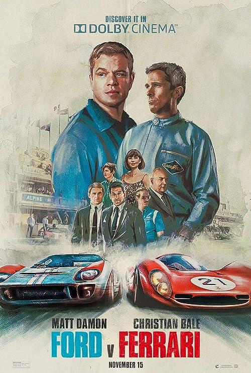 Lionbeen Ford V Ferrari Movie Poster Filmplakat 70 X 45 Cm Not A Dvd Amazon De Küche Haushalt