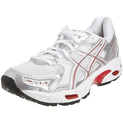 Asics Women s Gel Evolution 5 Running Shoe White Lightning Red T9A8N0122 9  UK  Amazon.co.uk  Shoes   Bags ad194166ed