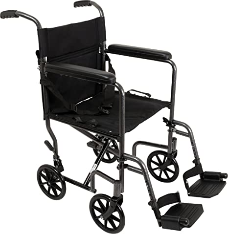 Amazon.com: Roscoe Medical silla de ruedas de transporte, en ...