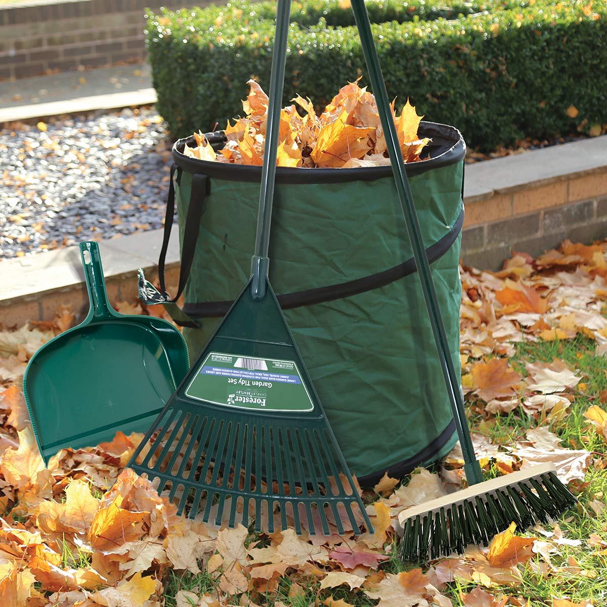 Decor Speed GARDEN TIDY Plastic Outdoor Broom Sweep-Up Loads Of