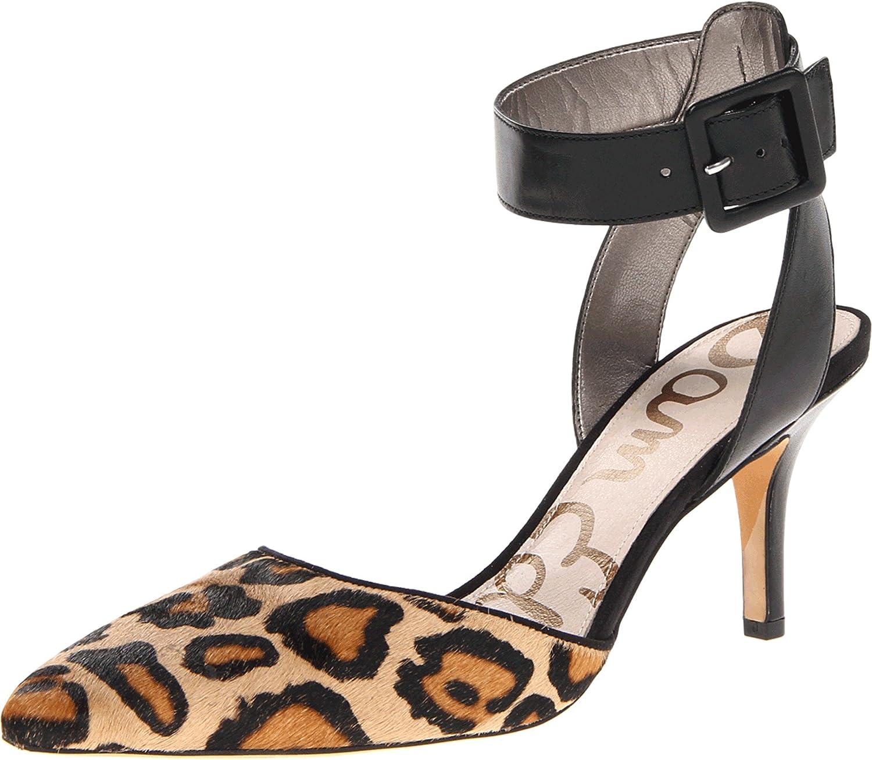 Sam Edelman Women's Okala Dress Pump B00AMO0KJA 9.5 B(M) US|Black/New Nude Leopard