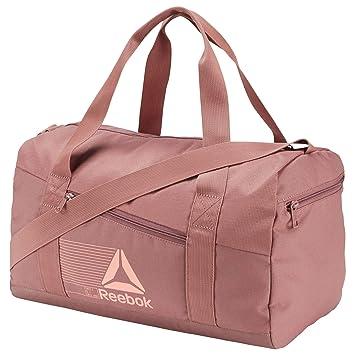 seleccione original colores y llamativos nuevo estilo de Reebok Essentials Maleta Deportiva Tipo Duffel, Color Rosa ...