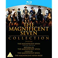 The Magnificent Seven Collection [Blu-ray] [1960] [Region Free]