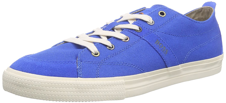 BOSS Casual Herren Buck 10189807 01 Low-Top  44 EU|Blau (Bright Blue 430)