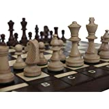 Chessebook BUG - Ajedrez de Madera, Tablero de 40 x 40 cm