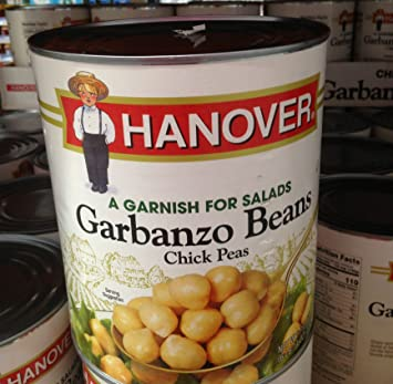 Amazon.com : Hanover chick peas 6 lbs 14 oz (pack of 6 ...