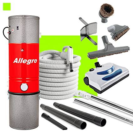 Amazon allegro central vacuum mu4100 3000 sq ft unit and 30 allegro central vacuum mu4100 3000 sq ft unit and 30 ft hose and powerhead solutioingenieria Choice Image