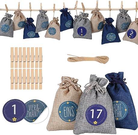 amazon sac pour calendrier avent