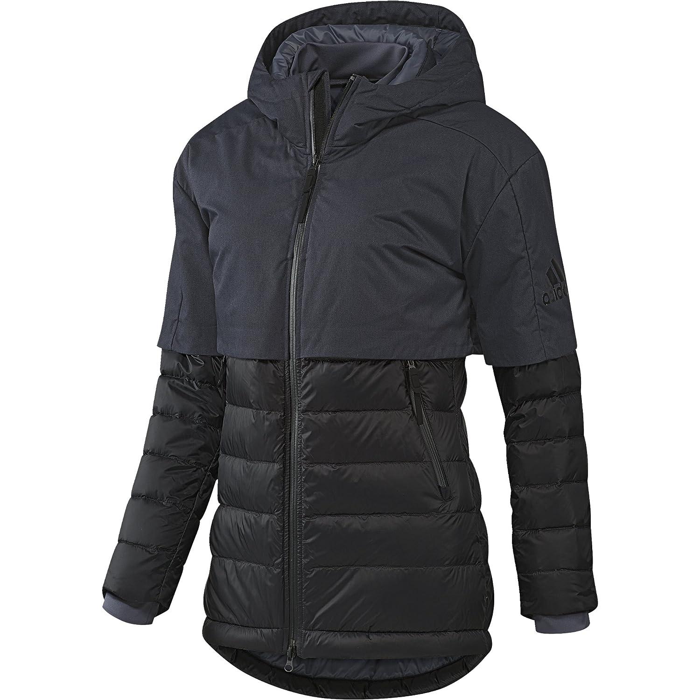 Adidas CH Jacke–Jacke für Frauen, Farbe schwarz/blau, Größe