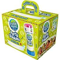Dulcop- Party Bubbles Confezione da 12pz. Bolle di Sapone Made in Italy, Multicolore, 414.0720000