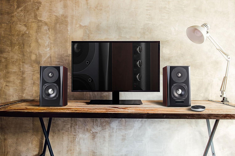 Edifier S350db Speaker System Home Entertainment Shelf Speaker And Subwoofer 2 1 With Bluetooth V4 0 Aptx In Wood Black Mp3 Hifi