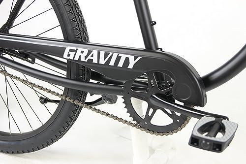 Salty Dog Gravity Aluminum Beach Cruiser Single Speed Bicycle