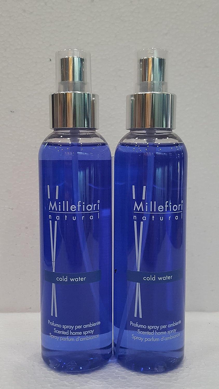 MILLEFIORI MILANO - SPRAY AMBIENTE 150 ML FRAGRANZA COLD WATER 2 CONFEZIONI