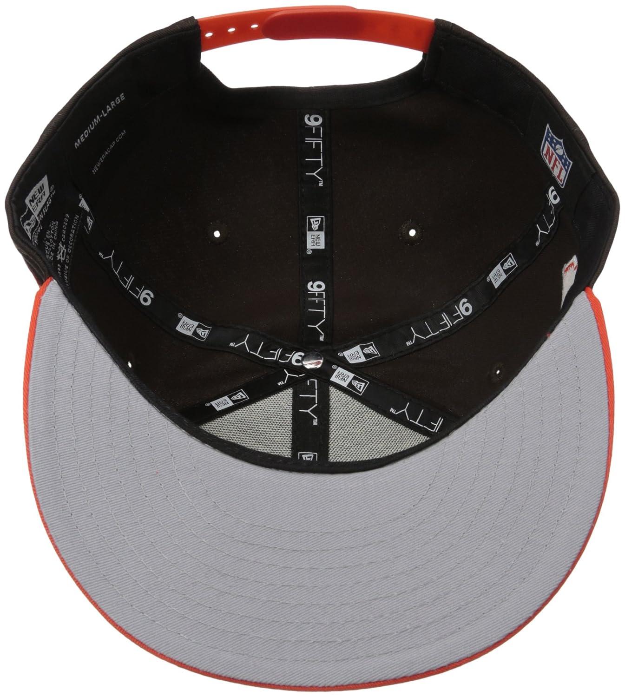size 40 236ad f59a0 Amazon.com   New Era NFL Baycik 9FiFTY Snapback Cap   Clothing