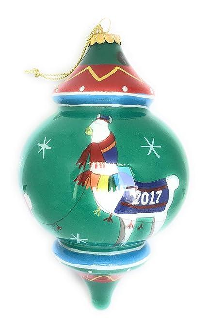Pier 1 Imports Christmas Tree Ornament Hand Blown Glass 2017 Hand Painted  Llama Ball - Amazon.com: Pier 1 Imports Christmas Tree Ornament Hand Blown Glass