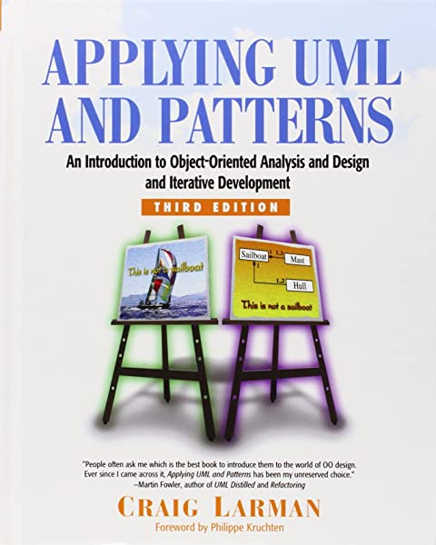 Applying Uml And Patterns An Introduction To Object Oriented Analysis And Design And Iterative Development 3rd Edition Larman Craig 9780131489066 Amazon Com Books