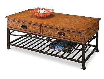 Amazon Com Home Style 5050 21 Modern Craftsman Coffee Table