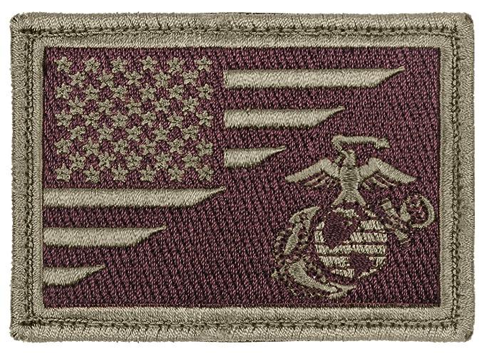 Amazon.com  Rothco US Flag   USMC Globe and Anchor Morale Patch ... 53925687a7b