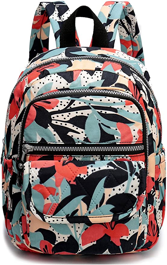 Details about  /Women/'s Water Resistant Nylon Backpack Rucksack Daypack Travel Bag Purse Basic