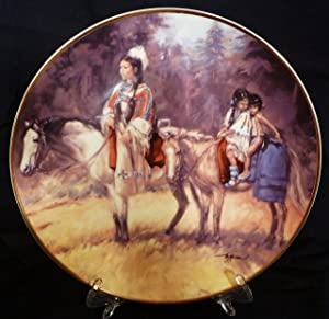 Journey Home Collector's Plate by Vel Miller; The Franklin Mint