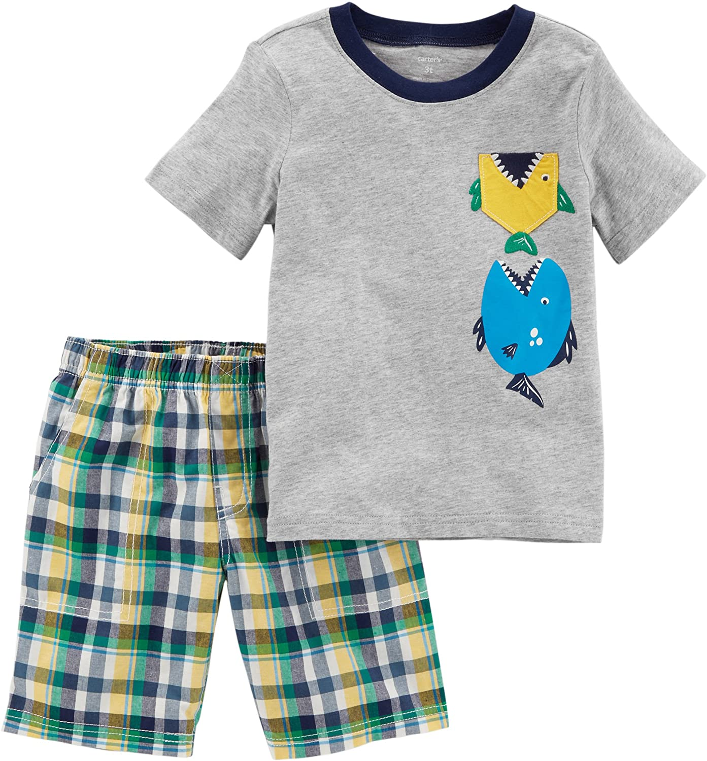 Carter's Boys' 2T-5T 2-Pc. Best Friends Tee and Shorts Set Carter's P000504358