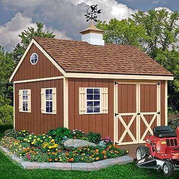Mejor graneros Mansfield (12 x 12 caseta de madera Kit