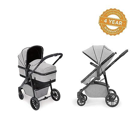 Ickle Bubba Moon - Carrito y silla de paseo 2 en 1, color gris claro