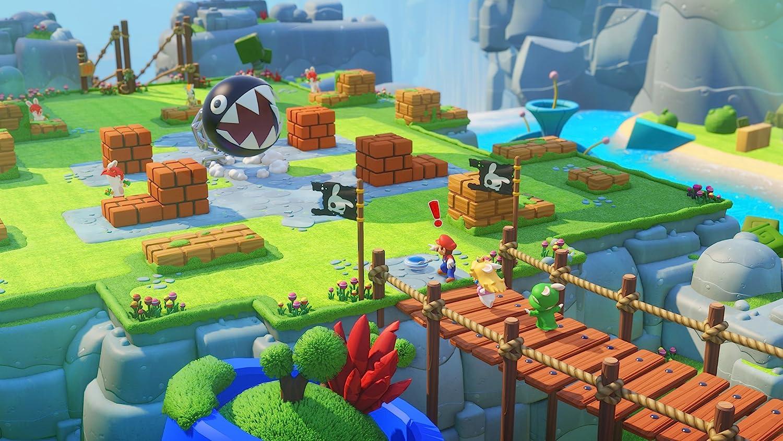 Mario Rabbids Kingdom Battle Nintendo Switch Pc Rayman Legends English Pal Games Video