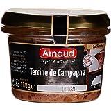 Arnaud Terrine de Campagne 180 g - Lot de 6