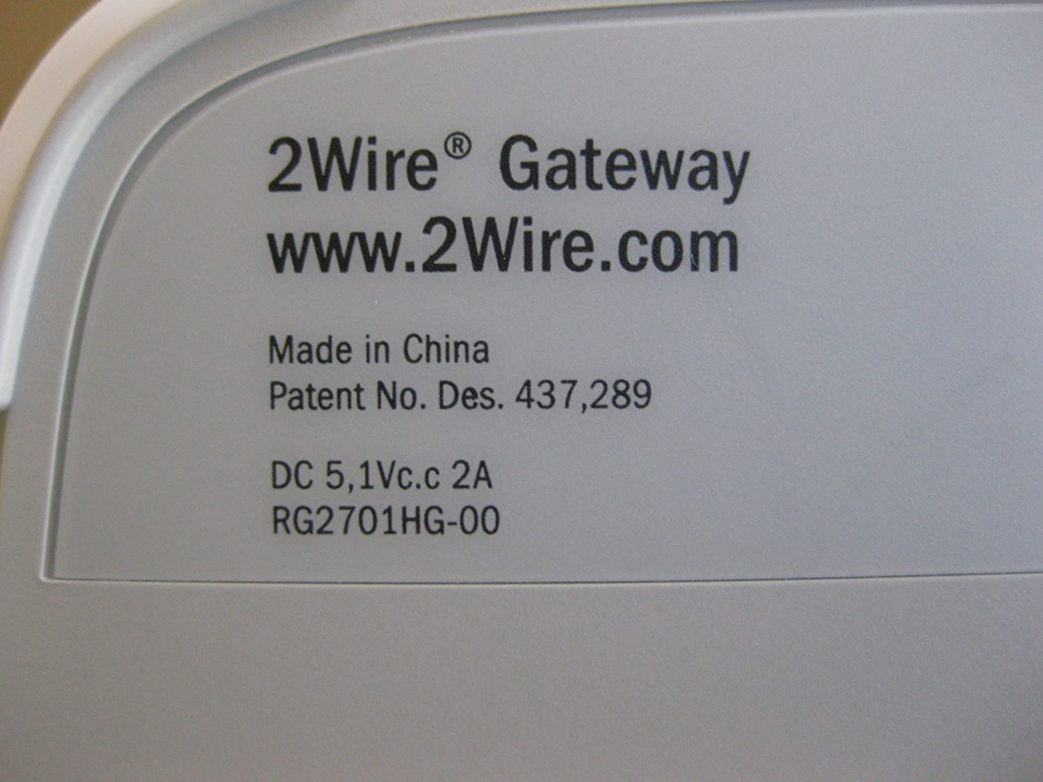 AT&T 2701HG-B 2Wire Wireless Gateway DSL Router Modem: Amazon.ca ...