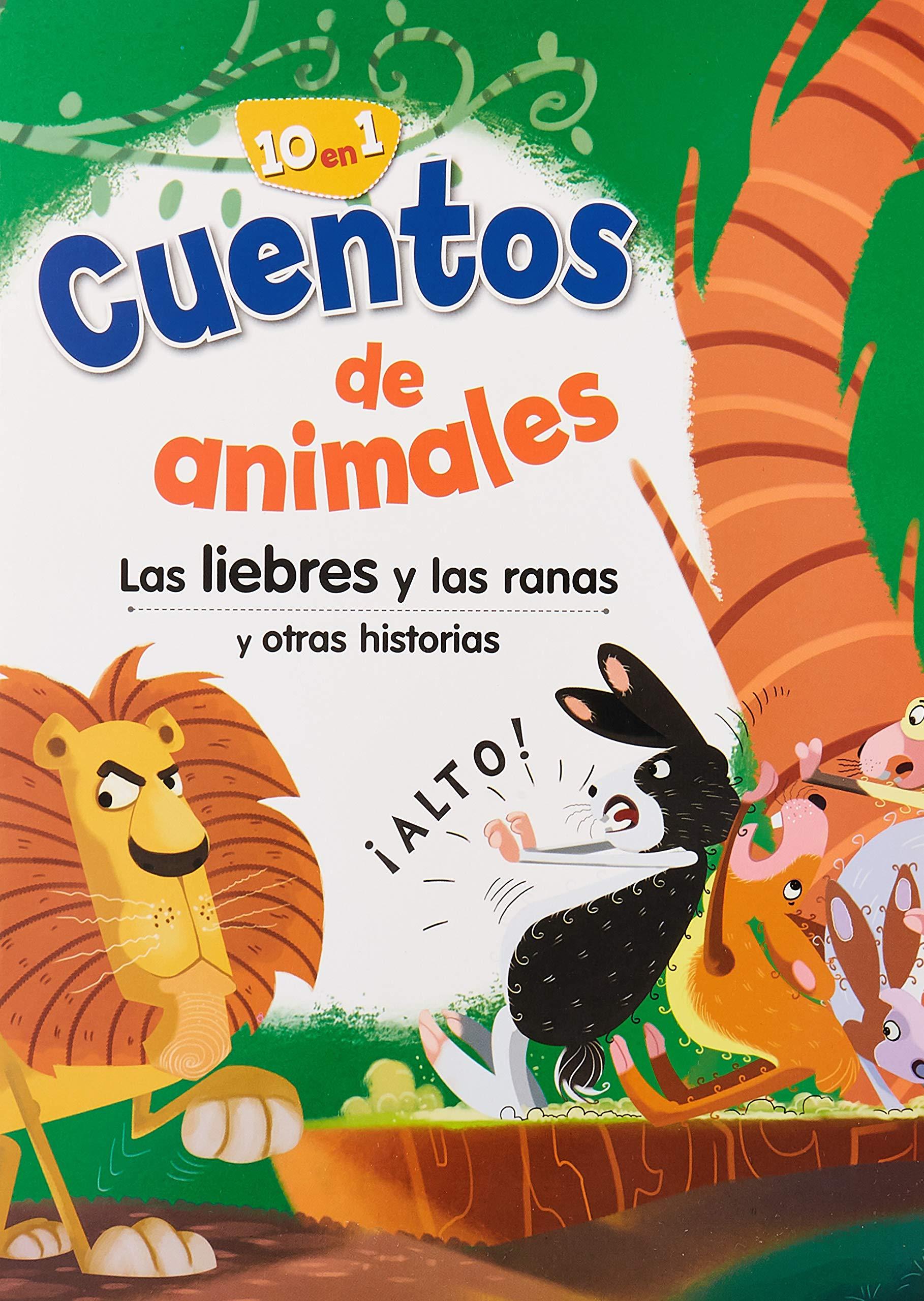Cuentos De Animales Las Liebres Y Las Ranas Silver Dolphin Mammoth 9786075323169 Books
