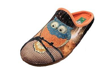Alberola Hausschuh Pantoffel Eule Orange A8706a - Eu 36 - 43 (38) n8TPc8o1FQ