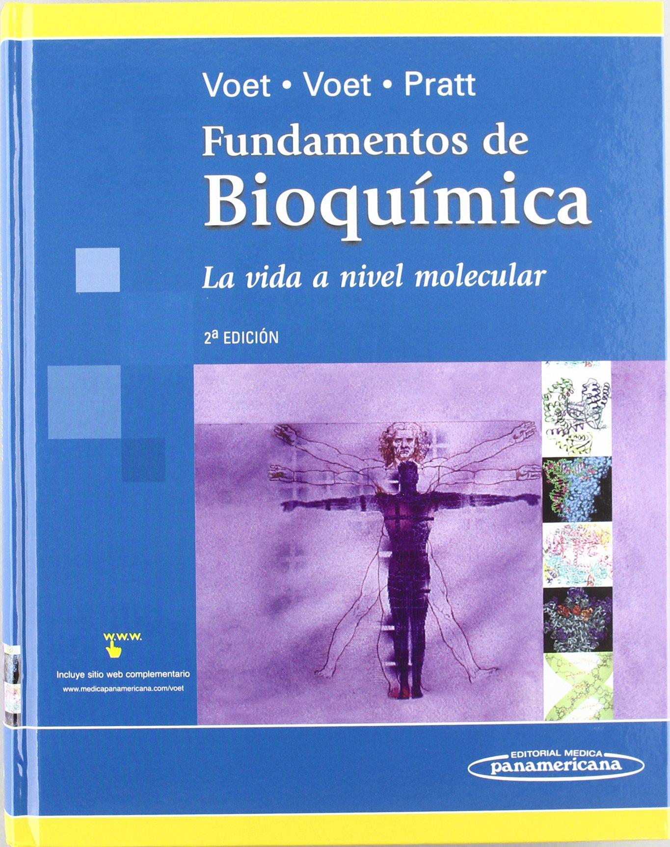Fundamentos De Bioquímica Voet Donald Voet Judith Pratt Charlotte Amazon Es Libros