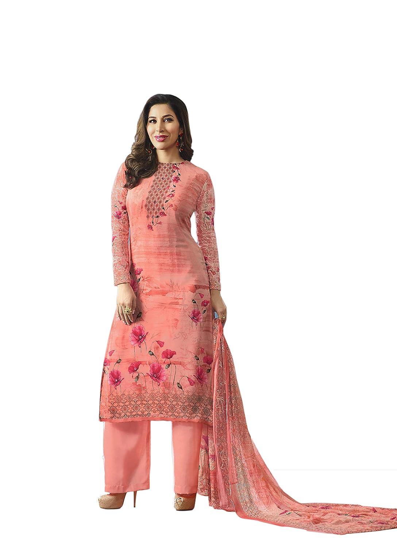 Indian Bollywood Designer Georgette Anarkali Salwar Kameez Semi-Sttiched A1031 55001031