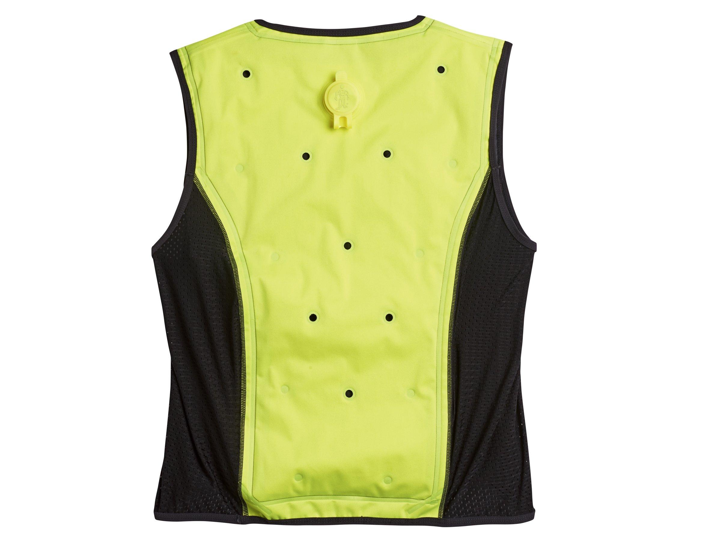 Ergodyne Chill Its 6685 Lime Dry Evaporative Cooling Vest, Large by Ergodyne (Image #2)