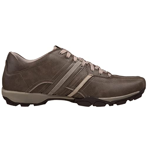 Skechers Urban Tread-Refresh, Chaussures basses homme, Marron foncé, 41