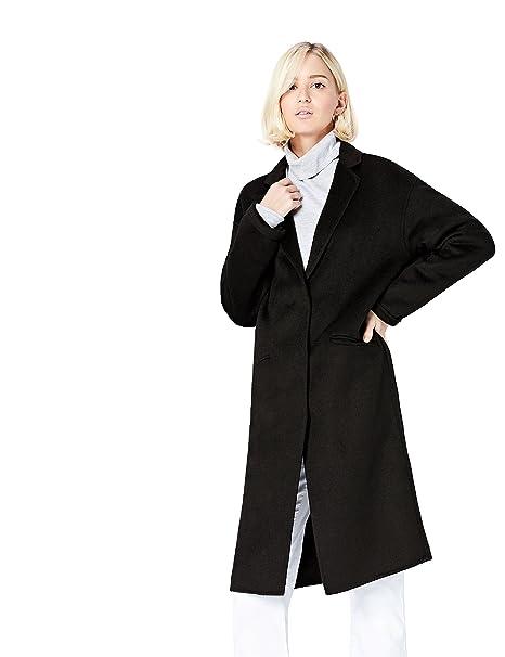 best website a6eea dc1d7 Marchio Amazon - find. Cappotto Classico in Tessuto Leggero Donna
