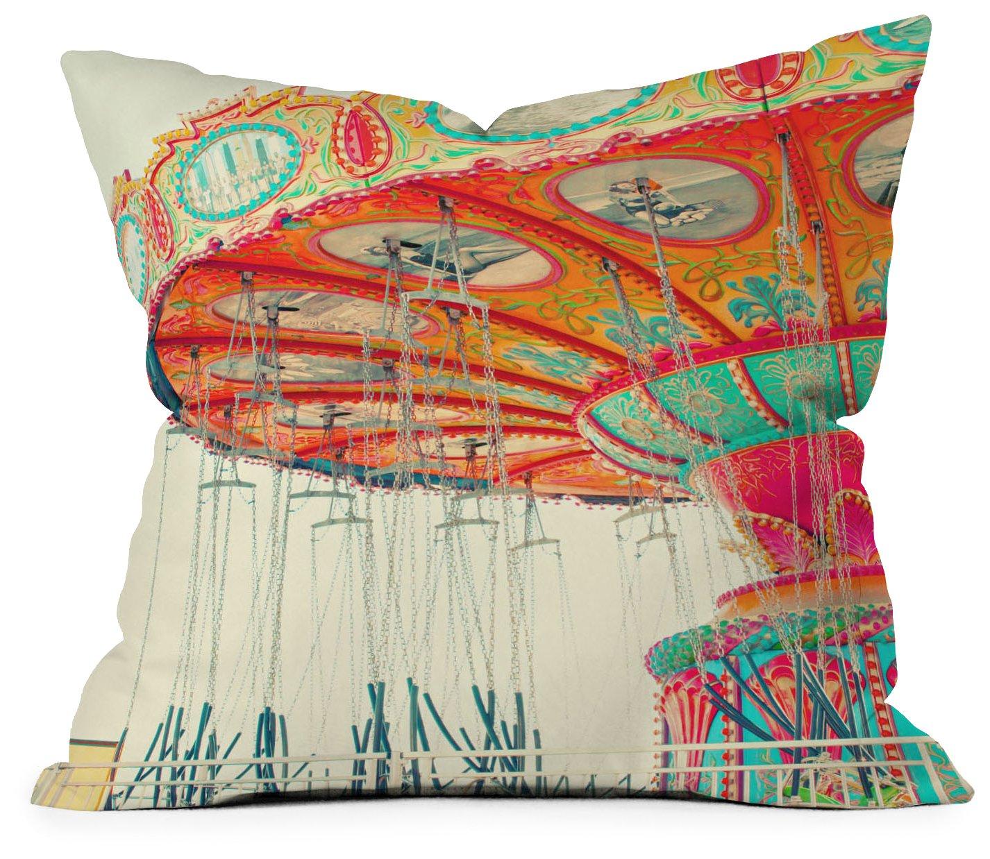 Amazon.com: Deny Designs Shannon Clark Swinging Throw Pillow, 18 x 18: Home  & Kitchen