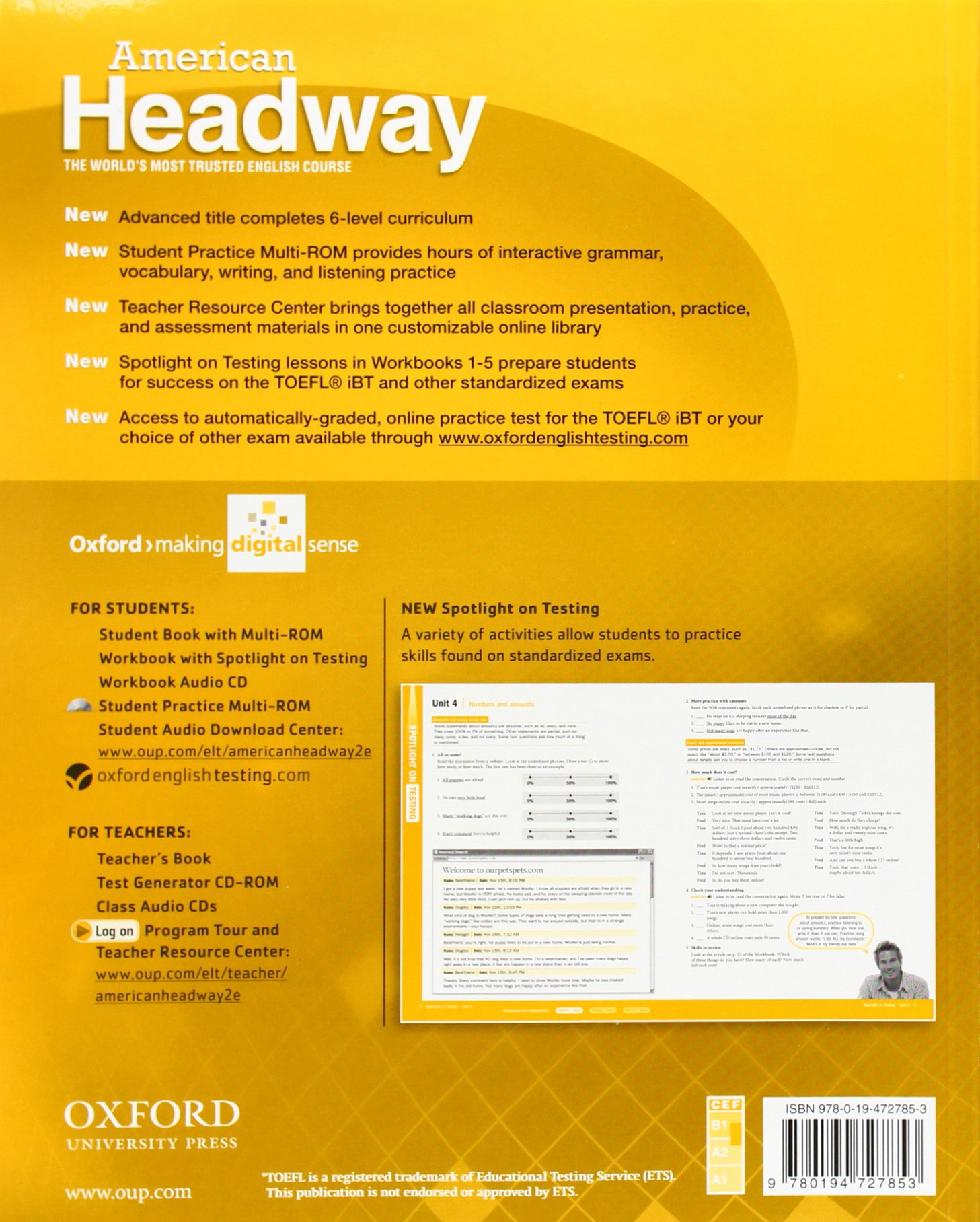 American Headway 2. Workbook American Headway Second Edition: Amazon ...