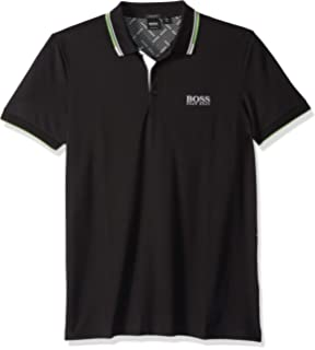 bf6cb3cf Amazon.com: Hugo Boss Men's Paddy Pro Short Sleeve Polo Shirt: Clothing