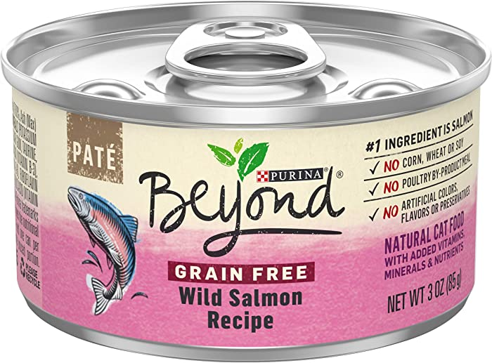 The Best Fancy Feast Cat Food Canned Wild Salmon Pate