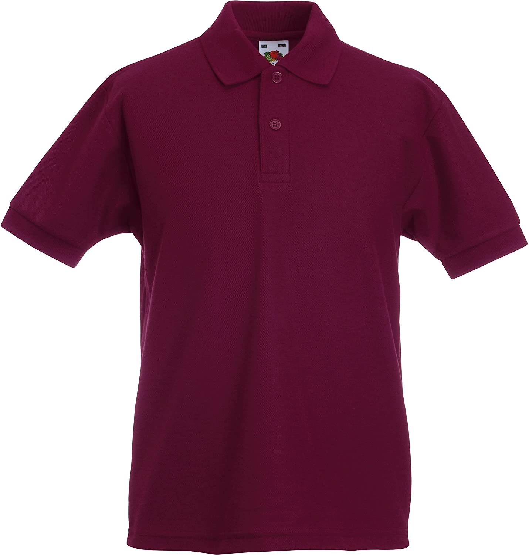 Fruit of the Loom Kids' Short Sleeved Polo Shirt