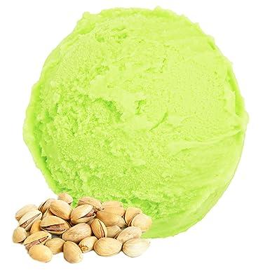 Pistachio Flavor 1 Kg Polvo de hielo Gino Gelati Polvo de hielo suave para su fábrica