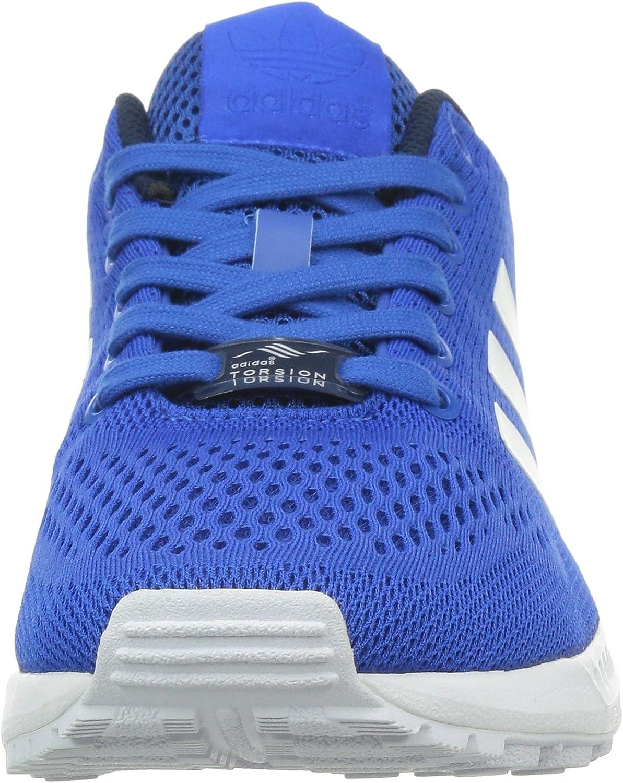 adidas Zx Flux, Baskets pour homme Multicolore Blue Ftwwht Cblack